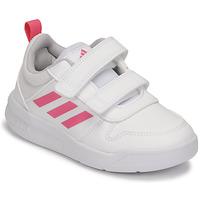 Buty Dziewczynka Trampki niskie adidas Performance TENSAUR C Biały / Różowy