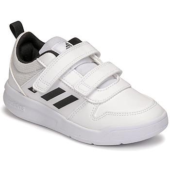 Buty Dziecko Trampki niskie adidas Performance TENSAUR C Biały / Czarny