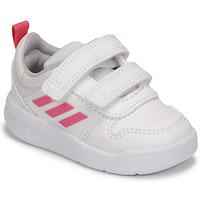 Buty Dziewczynka Trampki niskie adidas Performance TENSAUR I Biały / Różowy
