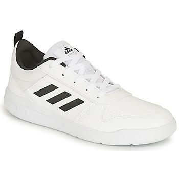 Buty Dziecko Trampki niskie adidas Performance TENSAUR K Biały / Czarny