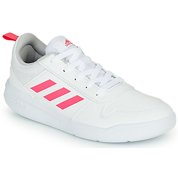 Buty Dziewczynka Trampki niskie adidas Performance TENSAUR K Biały / Różowy