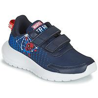 Buty Chłopiec Bieganie / trail adidas Performance TENSAUR RUN C Niebieski