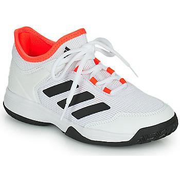 Buty Dziecko Tenis adidas Performance Ubersonic 4 k Biały / Czerwony