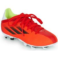 Buty Dziecko Piłka nożna adidas Performance X SPEEDFLOW.3 FG J Czerwony