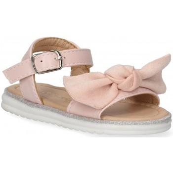 Buty Dziewczynka Sandały Bubble 54799 różowy