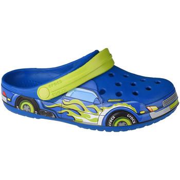 Buty Dziecko Chodaki Crocs Fun Lab Truck Band Clog Niebieski