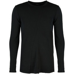 tekstylia Męskie T-shirty z długim rękawem Xagon Man  Czarny