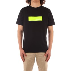 tekstylia Męskie T-shirty z krótkim rękawem Refrigiwear JE9101-T27300 Czarny