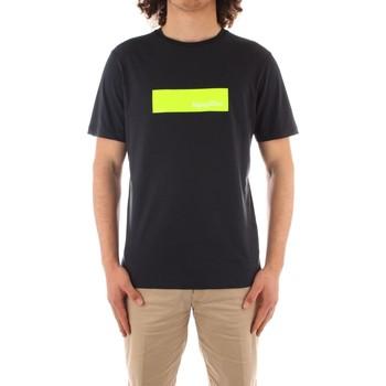 tekstylia Męskie T-shirty z krótkim rękawem Refrigiwear JE9101-T27300 Niebieski