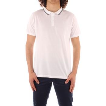 tekstylia Męskie Koszulki polo z krótkim rękawem Trussardi 52T00501 1T003602 Biały