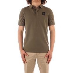 tekstylia Męskie Koszulki polo z krótkim rękawem Blauer 21SBLUT02329 Zielony