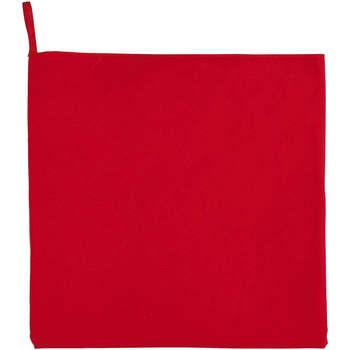 Dom Ręcznik i rękawica kąpielowa Sols ATOLL 30 ROJO Rojo