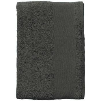 Dom Ręcznik i rękawica kąpielowa Sols BAYSIDE 100 Gris Oscuro Gris