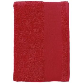 Dom Ręcznik i rękawica kąpielowa Sols BAYSIDE 100 Rojo Rojo