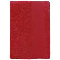 Dom Ręcznik i rękawica kąpielowa Sols BAYSIDE 50 Rojo Rojo