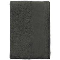 Dom Ręcznik i rękawica kąpielowa Sols BAYSIDE 70 Gris Oscuro Gris