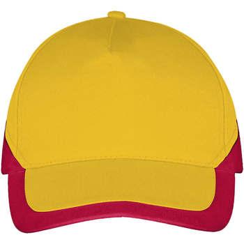 Dodatki Czapki z daszkiem Sols BOOSTER Amarillo Rojo Amarillo
