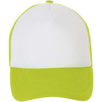 Dodatki Czapki z daszkiem Sols BUBBLE Blanco Verde Neon Verde