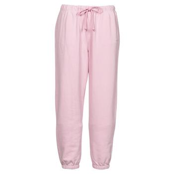 tekstylia Damskie Spodnie dresowe Levi's WFH SWEATPANTS Różowy