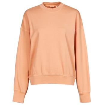 tekstylia Damskie Bluzy Levi's WFH SWEATSHIRT Różowy