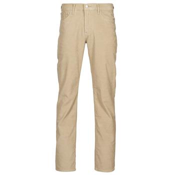 tekstylia Męskie Spodnie z pięcioma kieszeniami Levi's 512 SLIM Beżowy
