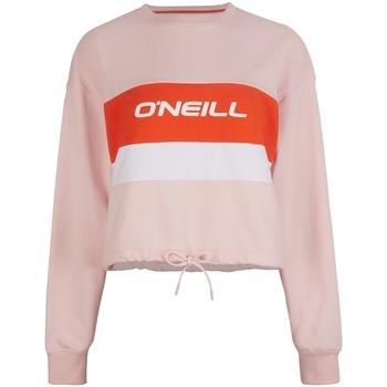 tekstylia Damskie Bluzy dresowe O'neill Athleisure Crew Różowy