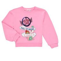 tekstylia Dziewczynka Bluzy Billieblush LOUNNA Różowy
