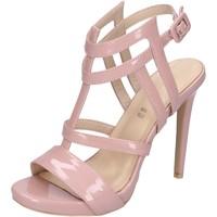 Buty Damskie Sandały Brigitte BJ966 Różowy