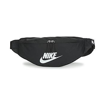 Torby Biodrówki Nike NK HERITAGE WAISTPACK - FA22 Czarny / Biały