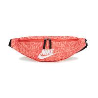 Torby Damskie Biodrówki Nike NK HERITAGE WSTPCK FA21 AOP2 Różowy / Czarny / Biały