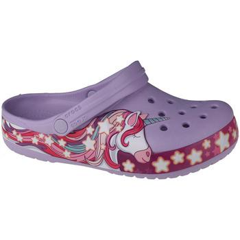 Buty Dziecko Chodaki Crocs Fun Lab Unicorn Band Clog Fioletowy
