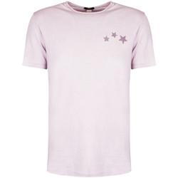 tekstylia Męskie T-shirty z krótkim rękawem Antony Morato  Fioletowy