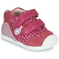 Buty Dziewczynka Trampki niskie Biomecanics BIOGATEO SPORT Różowy