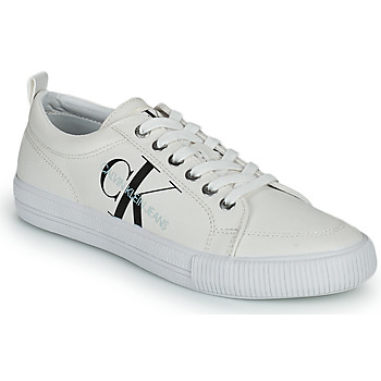 Buty Damskie Trampki niskie Calvin Klein Jeans VULCANIZED LACEUP SNEAKER Biały
