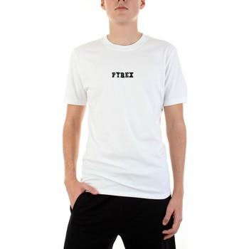 tekstylia Męskie T-shirty z krótkim rękawem Pyrex 42441 Biały