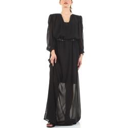 tekstylia Damskie Sukienki długie John Richmond RWP21003VE Czarny