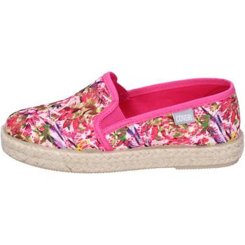Buty Dziewczynka Espadryle Enrico Coveri Sneakersy BJ977 Różowy