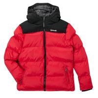 tekstylia Dziecko Kurtki pikowane Schott UTAH 2 Czerwony