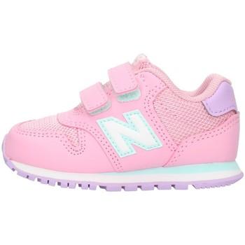 Buty Dziecko Trampki niskie New Balance IV500 Różowy