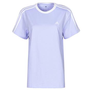 tekstylia Damskie T-shirty z krótkim rękawem adidas Performance WESBEF Ton / Fioletowy