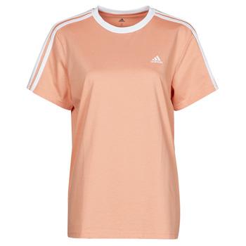 tekstylia Damskie T-shirty z krótkim rękawem adidas Performance WESBEF Blush / Ambiant