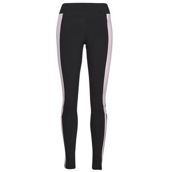 tekstylia Damskie Legginsy adidas Performance WECEBLEG Czarny / Różowy