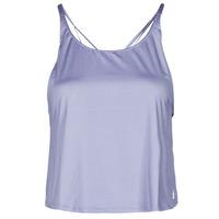 tekstylia Damskie Topy na ramiączkach / T-shirty bez rękawów adidas Performance YOGA CROP Fioletowy / Orbite