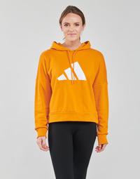tekstylia Damskie Bluzy adidas Performance WIFIEB HOODIE Pomarańczowy / Focus