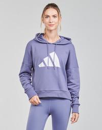 tekstylia Damskie Bluzy adidas Performance WIFIEB HOODIE Fioletowy / Orbite