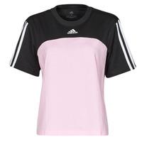 tekstylia Damskie T-shirty z krótkim rękawem adidas Performance WECBT Czarny