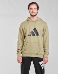 tekstylia Męskie Bluzy adidas Performance M FI 3B HOODIE Zielony / Orbite
