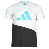 tekstylia Męskie T-shirty z krótkim rękawem adidas Performance FUTURE BLK TEE Biały /  kryształ