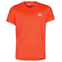 tekstylia Męskie T-shirty z krótkim rękawem adidas Performance OWN THE RUN TEE App / Solar / Czerwony