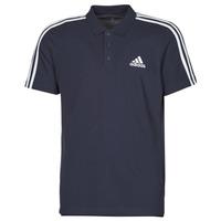 tekstylia Męskie Koszulki polo z krótkim rękawem adidas Performance M 3S PQ PS Encre / Légende